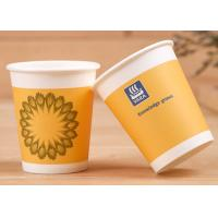 Buy cheap Soft Drink Single Wall Paper Cups With Lids Insulated Paper Coffee Cups from wholesalers