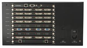 China PC Window 4k 2x2 Video Wall Processor Plug In VGA DVI Output wholesale