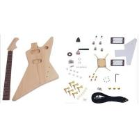Buy cheap Unfinished DIY Electric Guitar Kits , Flying Style Double Humbucker Guitar AG from wholesalers
