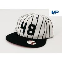 China White Letter Embroidery Sports Snapback Personalized Baseball Caps Collapsible Peak Skull wholesale