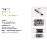 Buy cheap 2018 New 6 in 1 Derma Roller 12/300/720/1200 Needles Microneedle Therapy from wholesalers