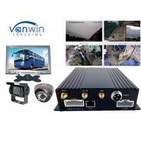 Buy cheap 3G realtime monitoring car DVR/MDVR/mobile DVR support oil sensor passenger counting from wholesalers