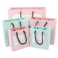 Buy cheap Customized professional paper gift bags with logo paper gift bags with handles from wholesalers