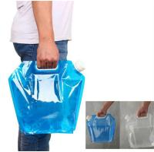 China BPA Free Foldable Drinking Bottle / Outdoor Portable Sports Folding Water Bottle wholesale