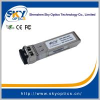 China 10Gbps zr sfp+ compatible sfp 1550nm 80km single mode transceivers wholesale