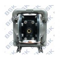 China Stainless Steel Diaphragm Air Pumps Air flow For Sodium Hydroxide wholesale