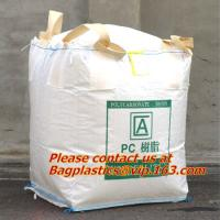 China 100% PP Woven FIBC Jumbo Bags for Sand, fibc bulk bag with four loop bags, big jumbo bag, Cheap china fibc big bags on sale