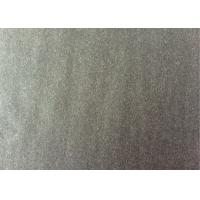 Quality 60wool40other charcoal  Color plainlow weight   Melton Wool Fabric for sale