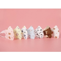 China Cute Cotton Disposable Kids Surgical Mask Children N95 With Funny Design wholesale