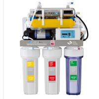 China 8 stages alkaline with UV lamp reverse osmosis water filtration system wholesale