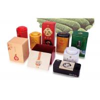 Buy cheap Octagonal Shape Empty Custom Product Packaging Boxes Hinged Tins Containers from wholesalers