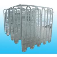 China Air Cooled Refrigeration Evaporators / Wire Tube Weld Evaporator wholesale