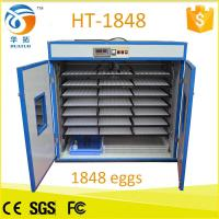 China Monthy top selling 1848 egg incubator poultry machine HT-1848 wholesale
