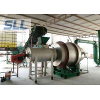 China Large Capacity Rotary Sand Dryer Machine For Sawdust Convenient Operation wholesale