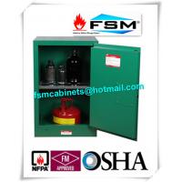 China 12 Gallon Green Safety Hazardous Storage Containers For Pesticide / Toxic wholesale