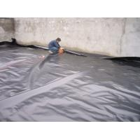 China HDPE Waterproofing Sheet / Geomembrane Pond Liner Roll For Landfill Project wholesale