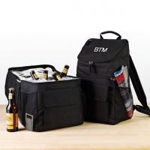 China Black Backpack Cooler Bag wholesale