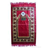 China 2012 New!!! islamic prayer mat with qibla finder wholesale