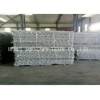 PVC Coated / Galvanized Gabion Wall Mesh With Double Twist Hexagonal Mesh