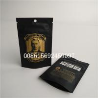 China Smell Proof Small Plastic Pouches Packaging Weeds Mylar Child Resistant Bag wholesale