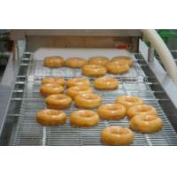 China 12000 Pcs / Hr Industrial Donut Making Machine With Customized Hexagon Cutter wholesale