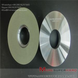 China Ceramic bonded diamond grinding wheel polishing hard and brittle workpiece Alisa@moresuperhard.com wholesale