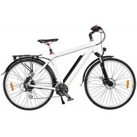 China Mens High End Electric Bike with Down Tube Battery and Front / Rear Tektro Disc Brake wholesale
