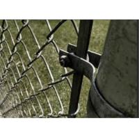 China 120mm 1-3/8'' Galvanized Steel Tension Band Chain Link Fence Fittings wholesale