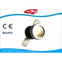 China Thermal Switch manual reset Snap Disc Thermostat with open cap , T24-WF2-TB wholesale