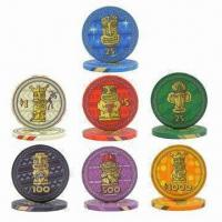 China 10g Casino Ceramic Poker Chips, OEM Orders are Welcome, Small Orders Acceptable, Fast Delivery wholesale