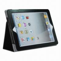 China Standing Leather Cover for iPad 2/3, OEM/ODM Orders are Welcome wholesale