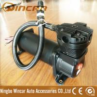China Black Color Suspension 12V Portable Air Compressor For Car Tires CE Approved wholesale