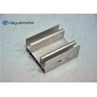 China Thickness 1.6mm Aluminium Extrusion Profile , Aluminum Window Frame Extrusions wholesale