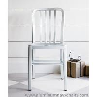 China Lightweight Incredibly Strong Emeco Navy Chairs With Anodizing Brushed Waterproof wholesale