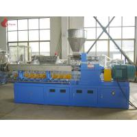 China PLC Co - rotating Plastic Extruder Machine Alloy Twin Screw of modular wholesale