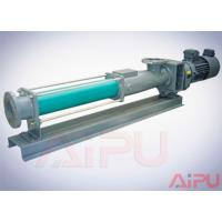 China Aipu solids APG series S.S screw pump for centrifuge in drilling mud system wholesale