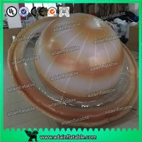 China Customized 2m Inflatable Planet Decoration Lighting Inflatable Saturn wholesale
