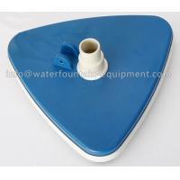 China Triangular Liner Swimming Pool Accessories Vacuum Head With Swivel Cuff wholesale