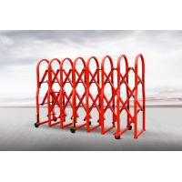 Buy cheap Outdoor Security Mannual Portable Crowd Control Gates Barrier OF Powder Coated from wholesalers
