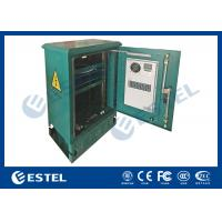 """China 18U Standard 19"""" Rail Outdoor Pole and Floor Mounted Cabinet With Air Conditioner wholesale"""