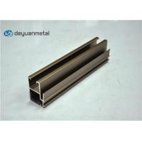 China Champagne Anodized Aluminium Profile Extruded Aluminum Window Profile 20 Foot wholesale