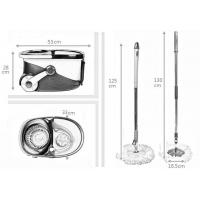 China KXY-PC Deluxe 360 spin mop with wheels wholesale