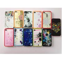 China Flower Custom PC Phone Case Protective For Iphone 4 / 4s on sale