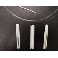 China White Stock Flexible Disposable Nose Clip  Thickness 1mm Width 3mm 4mm 5mm wholesale