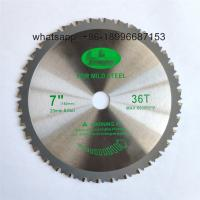 China 110mm-355mm Stainless steel cutting blades with 75cr1 plate for cutting Angle irons, steel studs. OEM, color box wholesale