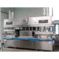 China Disposable Takeaway Fast Food Paper Plates Making Machine 700 Pcs / Hour wholesale