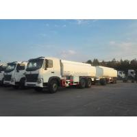 China SINOTRUK HOWO Oil Tank Truck / Fuel Oil Truck Horsepower 336 Hp Engine wholesale