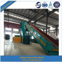 China Fully automatic hydraulic trash baler with CE wholesale
