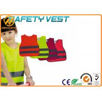 Buy cheap Reflective Kids High Visibility Vest with Fluorescent Yellow Polyester Material from wholesalers