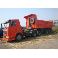 China SINOTRUK Heavy Duty Dump Truck Trailer 3 Axle Front Side Lifting on sale